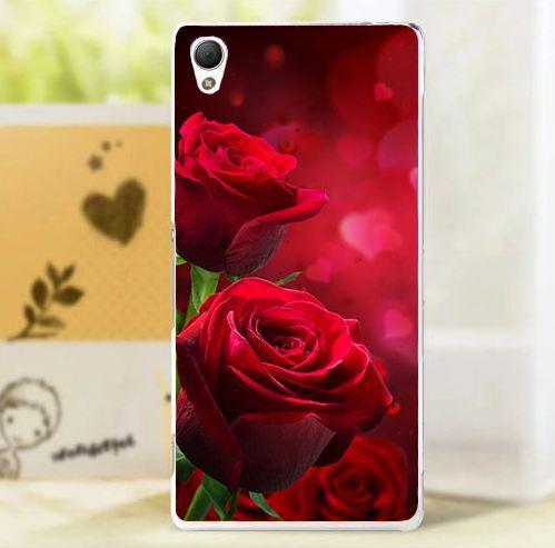 Оригінальний чохол панель накладка для Sony Xperia X з картинкою Три троянди