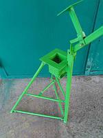 Пресс для брикетов 100х100 мм+измельчитель картона MASTAK