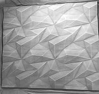 Кристалы 3D панели гипсовые