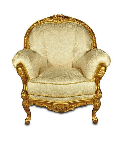 Кресло Мила с резьбой, фото 2