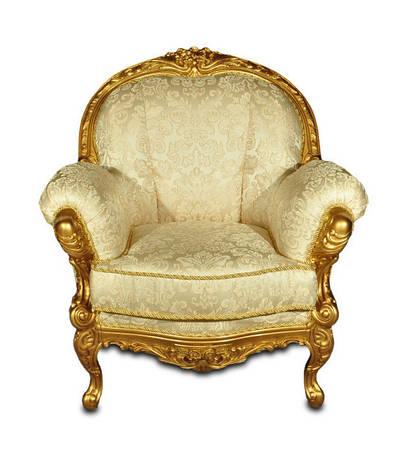 Крісло Міла з різьбою, фото 2