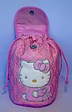 Детский белый рюкзак для девочек Hello Kitty 23*24 см, фото 3