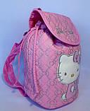Детский белый рюкзак для девочек Hello Kitty 23*24 см, фото 7
