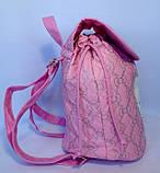 Детский белый рюкзак для девочек Hello Kitty 23*24 см, фото 8