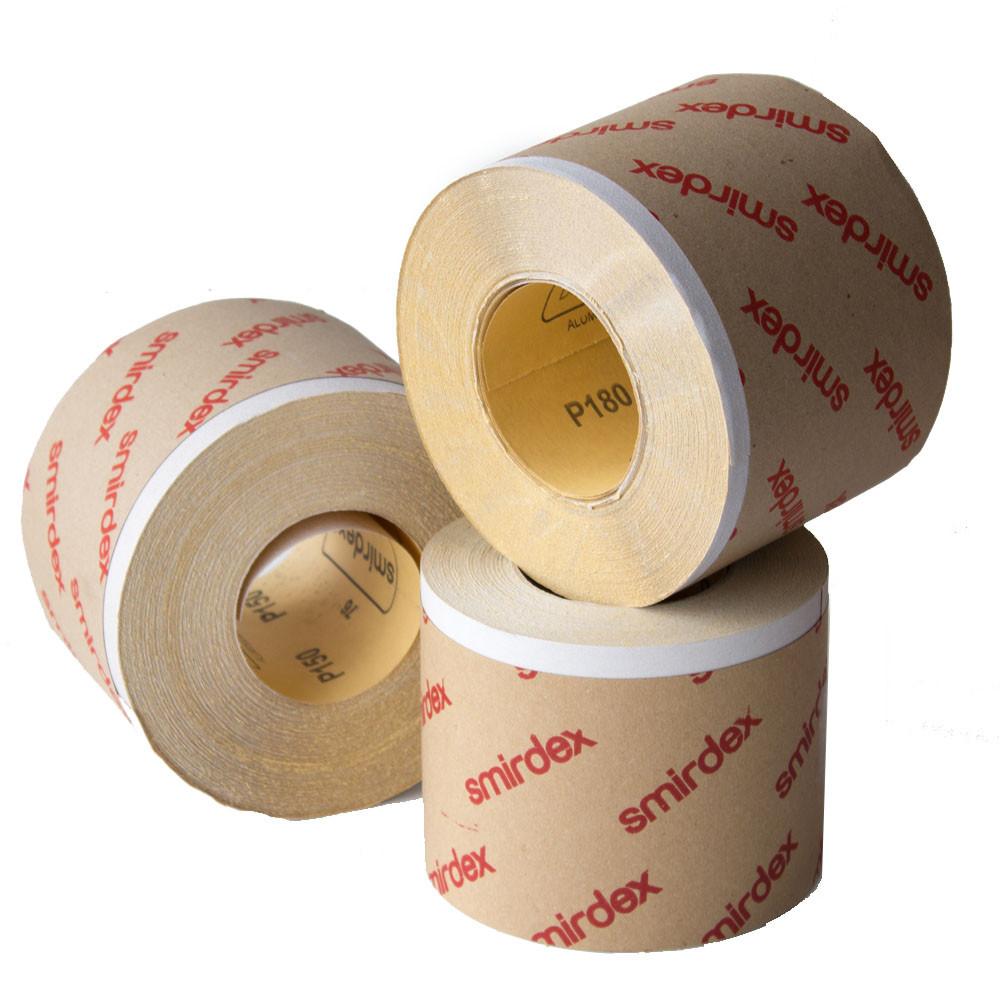 Наждачная бумага в рулоне Smirdex 115мм х 50м P500