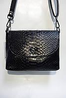 Сумка-клатч из натуральной кожи 1038 black