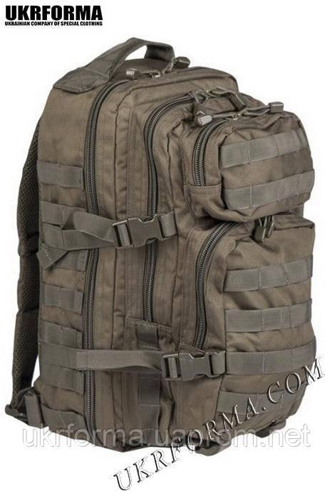 Рюкзак штурмовий США малий 20 л. олива
