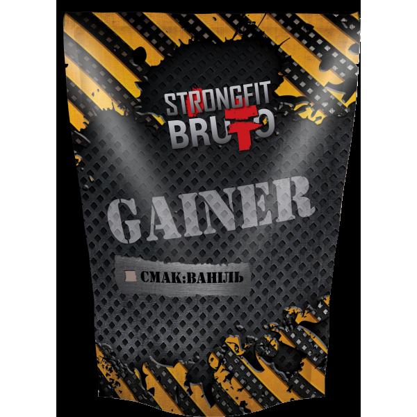 Гейнер Strong Fit Brutto - Gainer (909 грамм)