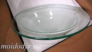 Умывальник стеклянный врезной круглый 470 мм