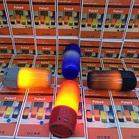 Объемная портативная bluetooth колонка с подсветкой Pulse 3. Отличное качество. Доступная цена. Код: КГ3168