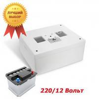 Инкубатор автоматический Несушка - М , 12/220 В, ТЭН + вентилятор , для всех видов яиц
