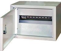 Шкаф металлический распределительный модульный E.NEXT - 6 мод.; IP30; навесной с замком