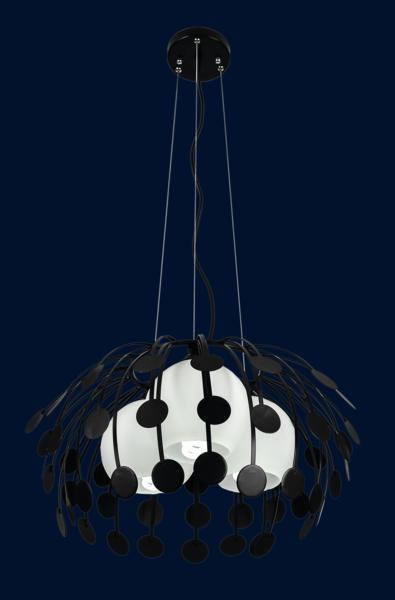 Кухонный подвесной светильник 7073052-3 ЧЕРНЫЙ