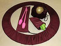 Набор чехлов для предметов художественной гимнастики (обруч, булавы, скакалка, мяч)