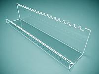 Подставка для ручек карандашей, маркеров на 10 шт 160х70х60 мм (Толщина акрила : 3 мм; )