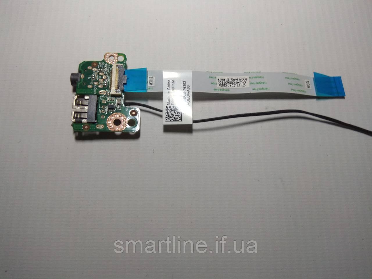Плата Audio, USB для ноутбука Dell Latitude E5520, 35101C700, RCCF3302