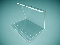Подставка для ручек из оргстекла на 10 шт. 160х130х120 мм (Толщина акрила : 1,8 мм; )