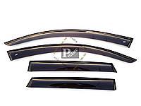 """Дефлекторы окон Mazda 3 I Hb 2003-2008 Cobra Tuning - Ветровики """"CT"""" Мазда 3 1 хэтчбек 2003-2008 (на скотче)"""