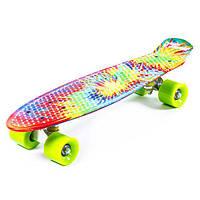 Скейтборд Penny (колеса PU, цветная дека 24in (56см))