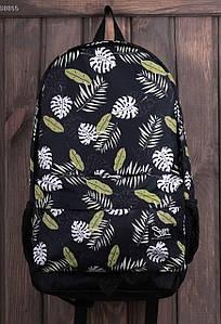 Молодежный черный рюкзак Staff print 23 L CBS0055
