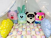 Бортики в дитячу ліжечко - Звірятка, фото 2