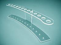 Пластиковая подставка под ручки на 13 шт. 220х70х70мм (Толщина акрила : 1,8 мм; ), фото 1