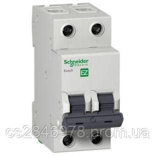 Автоматический выключатель EASY 9 2П 20А С 4,5кА 230В