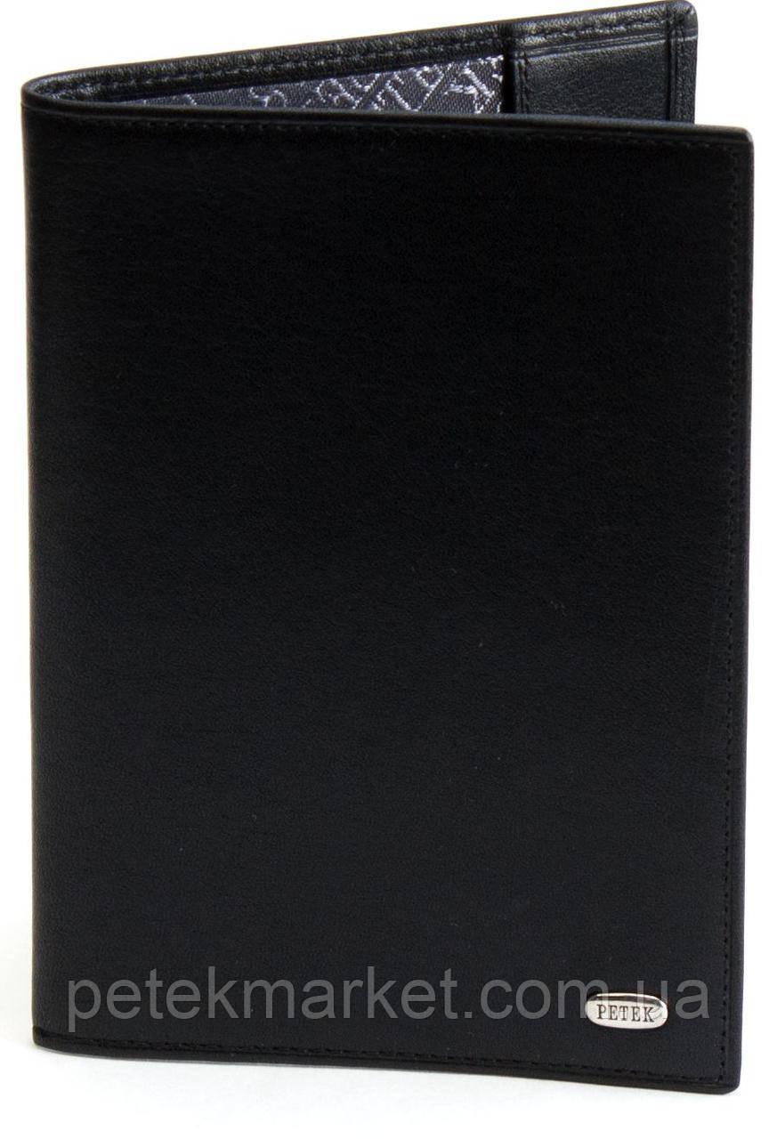 Обложка для паспорта PETEK 581 Черный (581-167-01)