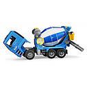 Игрушка - бетоновоз MAN TGA синий, М1:16 02744, фото 7
