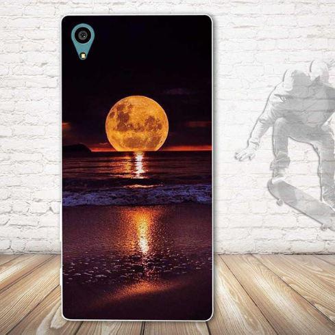 Чехол с картинкой (силикон) для Sony Xperia L1 g3312 Закат