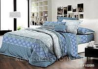 Семейный комплект постельного белья 150*220 (2шт) из ранфорса Мечтательность