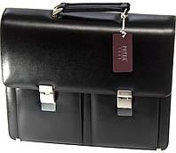 Кожаный портфель PETEK 7510 Черный (7510-000-01)