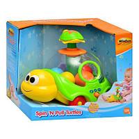 Черепаха 0660 NL (каталка, юла, шарики, звук)