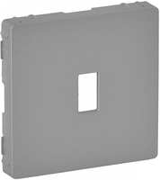 Лицевая панель розетки USB Legrand Valena Life Алюминий (754752)
