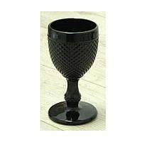 """Бокал для шампанского черный 150 мл """"Грааль"""" ( набор бокалов )"""