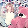 Большой плюшевый медведь Бублик 120 см (розовый)
