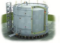 Монтаж изотермических вертикальных резервуаров
