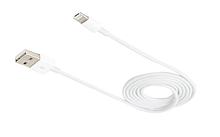 Универсальный USB-кабель белый 1 метр