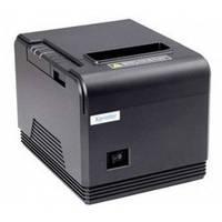 Принтер чеков Xprinter XP-Q260 (USB+COM+LAN) с автообрезчиком