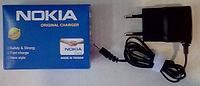 Адаптер зарядное устройство для NOKIA Original charger 5.0V 800mA
