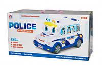 Музыкальная развивающая игрушка bt-2217e Полицейская машина-каталка
