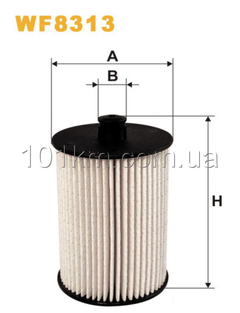 Фильтр топливный WIX WF8313 (PE973/1)