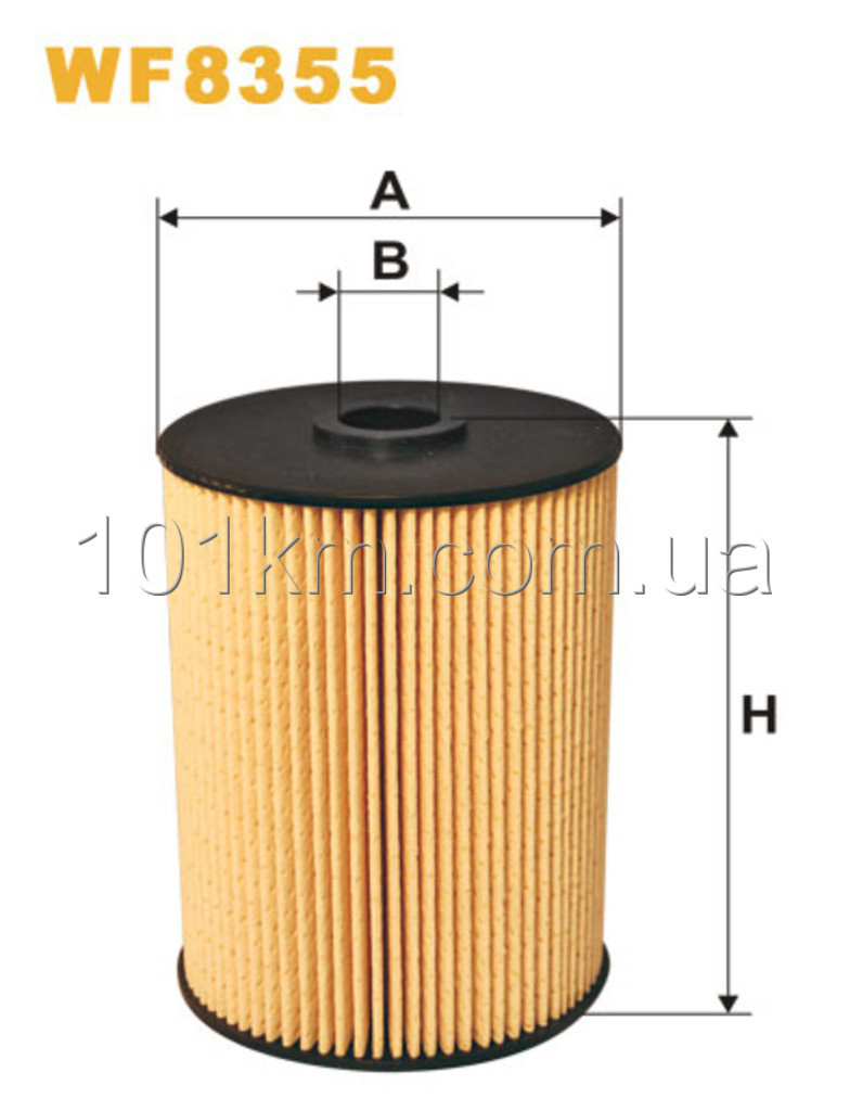 Фильтр топливный WIX WF8355 (PE973/2)