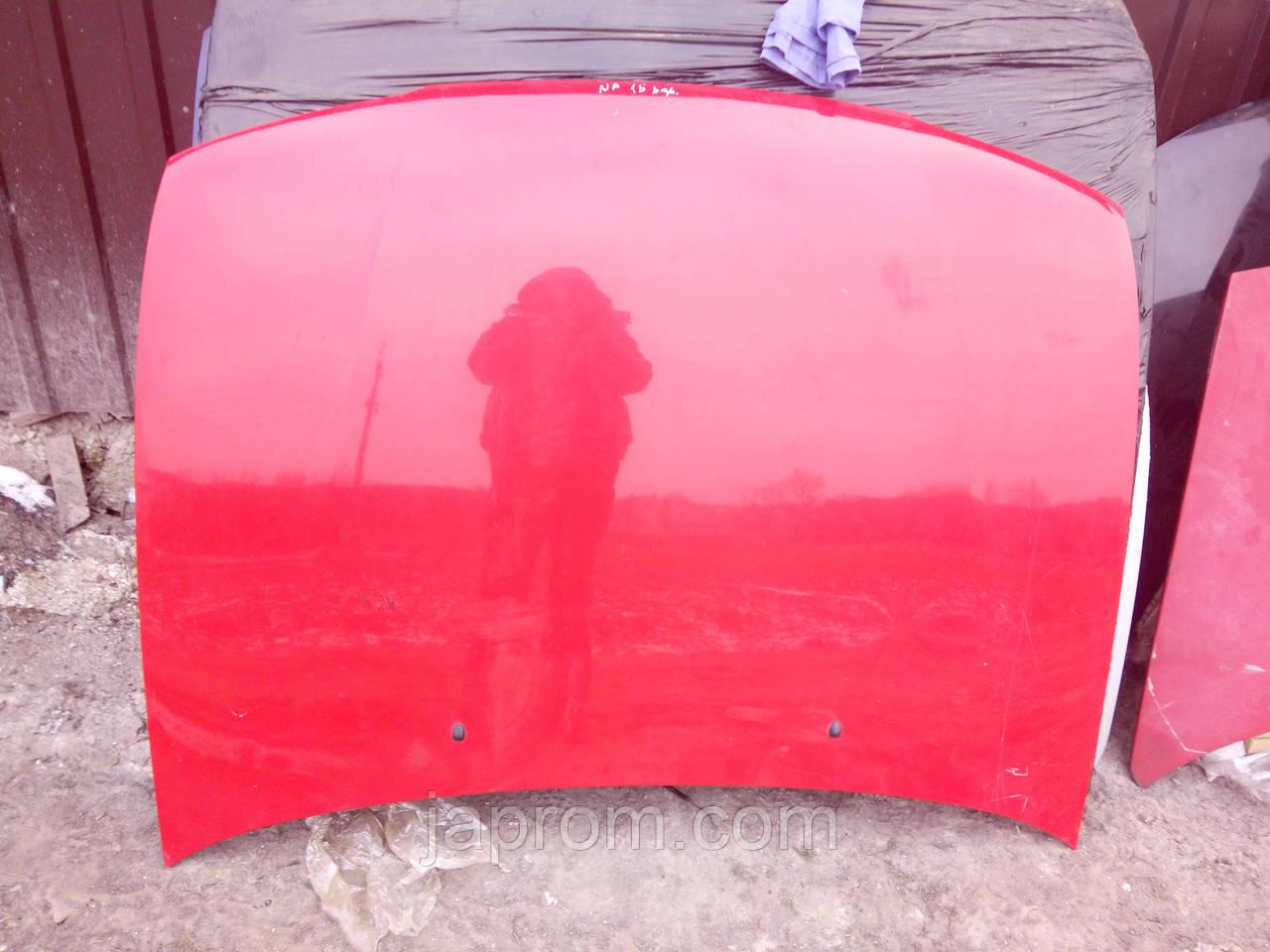 Капот Nissan Almera N15 1995-2000г.в. 3/4/5 дв. красный
