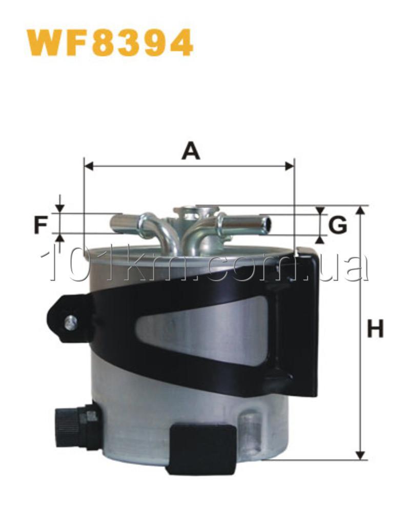 Фильтр топливный WIX WF8394 (PP980/7)