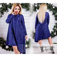 Вечернее асимметричное платье Размер 62-70