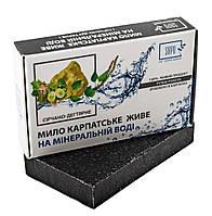"""Мыло натуральное """"На минеральной воде""""  Серно-Дегтярное"""
