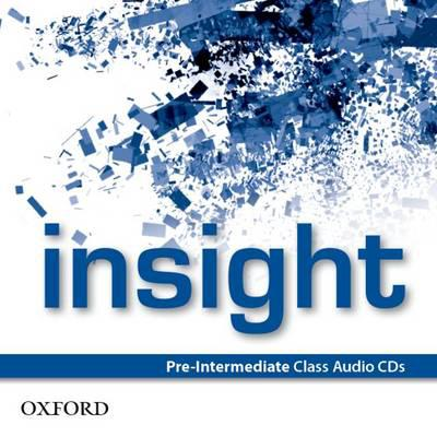 Insight Pre-Intermediate Class Audio CDs