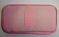 Женские косметички несессоры для путешествий 26*12*13 см розовый