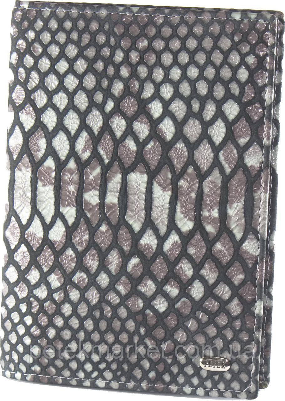 Обложка для паспорта PETEK 581 Тёмно-серый (581-117-25)